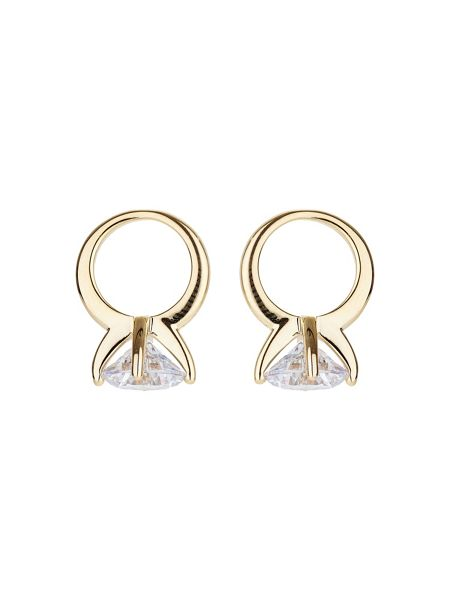 Mikey Sun design hanging cubic earring