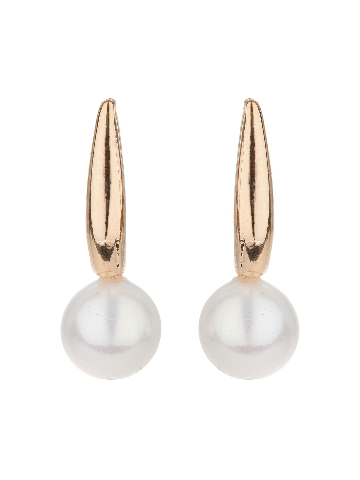 mikey pearl drop stem earring