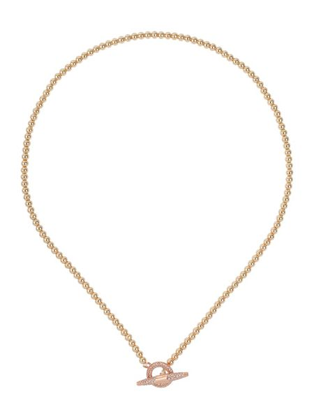Mikey Clip lock metal chain necklace