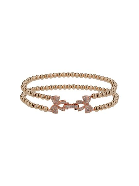 Mikey Twin butterfly inter lock bracelet