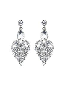 Mikey Fruit crystal design drop earring