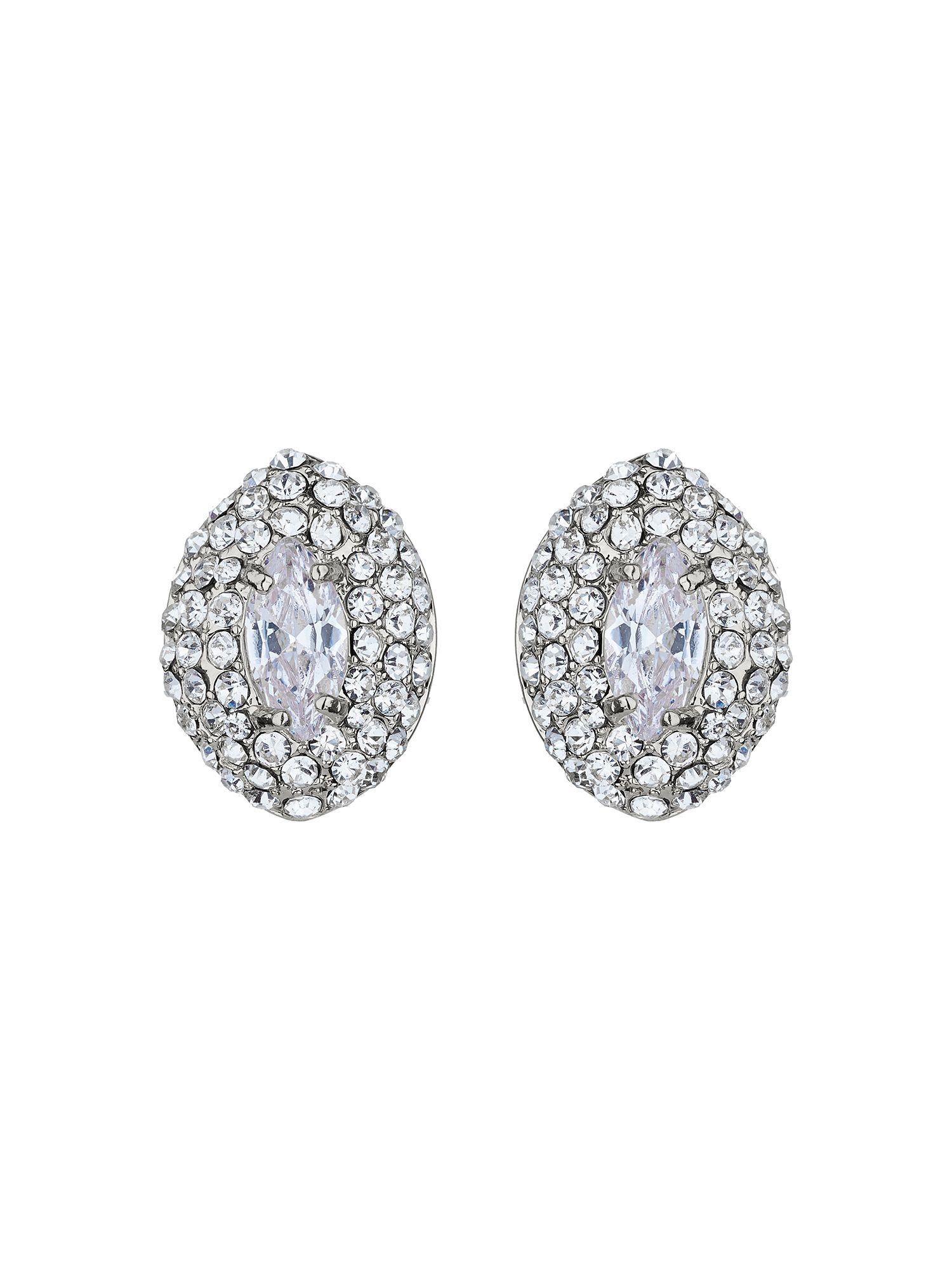 mikey eclipse crystal top stud earring