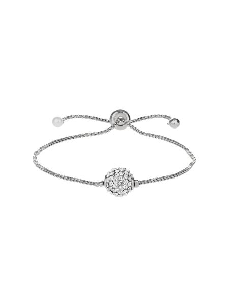 Mikey Cubic Studded Ball Tie Up Bracelet