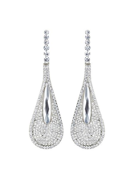 Mikey Slim eclipse studded long drop earring