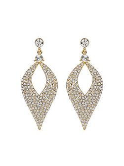 Eclipse Design Crystal Studded Earring