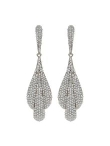 Mikey Triple Eclipse Crystal Studded Earring