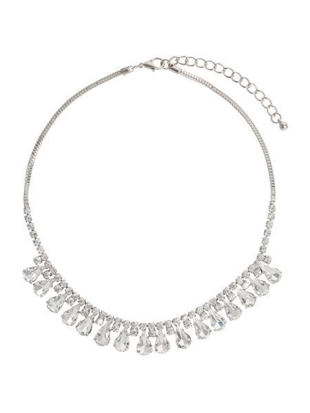 Mikey Hanging Crystal Chain Necklace