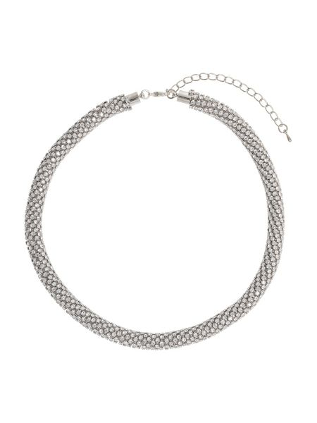 Mikey Crystal Rope Choker Necklace