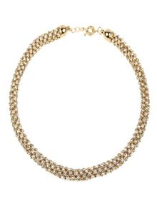 Mikey Rope crystal necklace