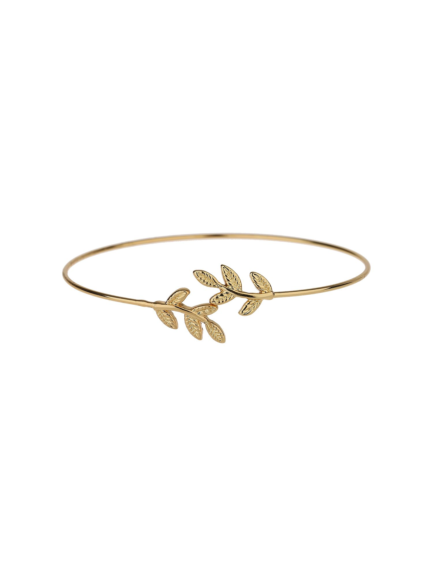 Mikey Flower cap end  wire cuff bracelet NA