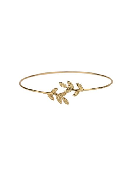 Mikey Flower cap end  wire cuff bracelet