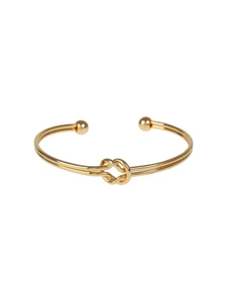 Mikey Centre Knot Twin Wire Cuff Bracelet