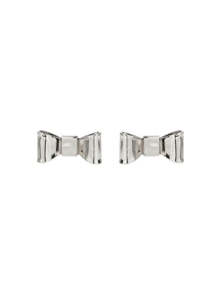 Mikey Flat Bow Stud Earring
