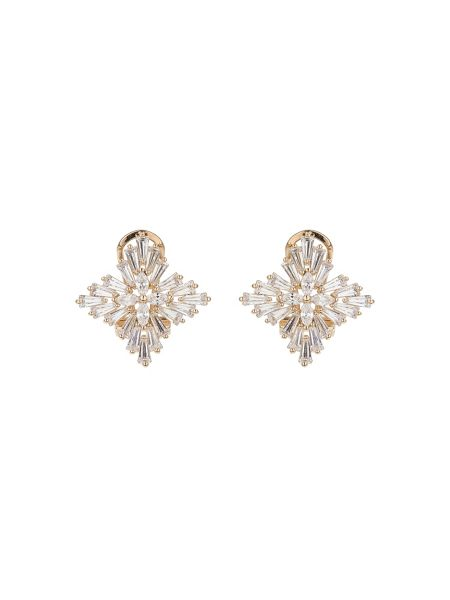 Mikey Cross design multi baguette earring