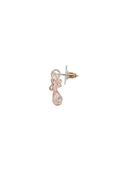 Mikey Round cubiic disc flower stud earring