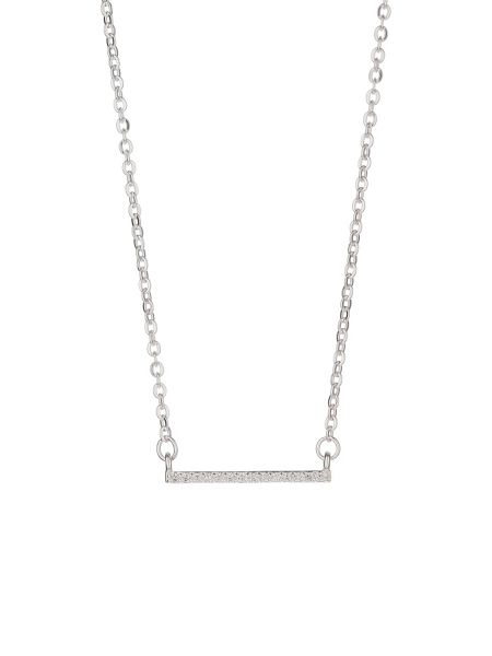 Mikey Silver 925 Embed Link Bar Design Pendant