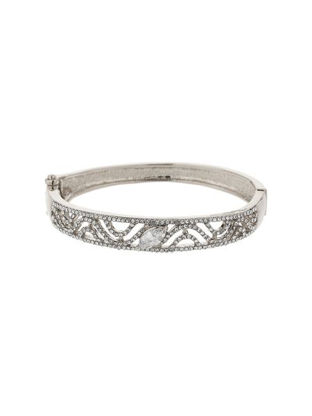 Mikey S dsign filigree cubic cuff bracelet