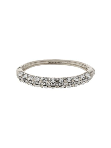 Mikey Bangle shape crystal embed bracelet
