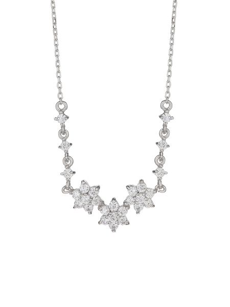 Mikey Sterling Silver 925 Daisy Link Pendant