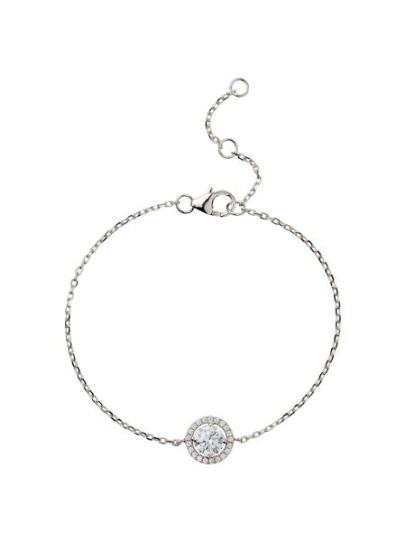 Mikey Sterling Silver 925 Circle CentreTennis