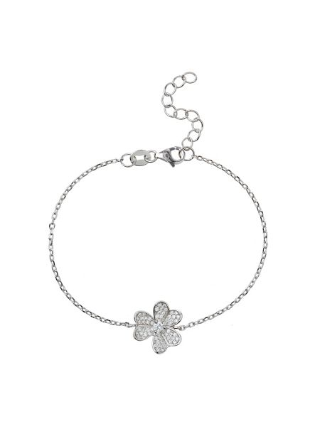 Mikey Sterling Silver 925 Daisy Centre Tennis