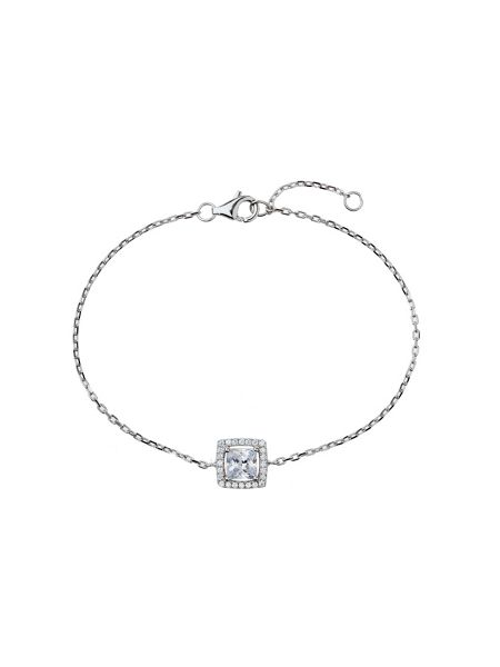 Mikey Sterling Silver 925 Square Centre Tennis