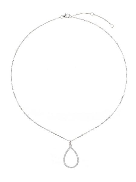 Mikey Sterling Silver 925 Oblong Pendant