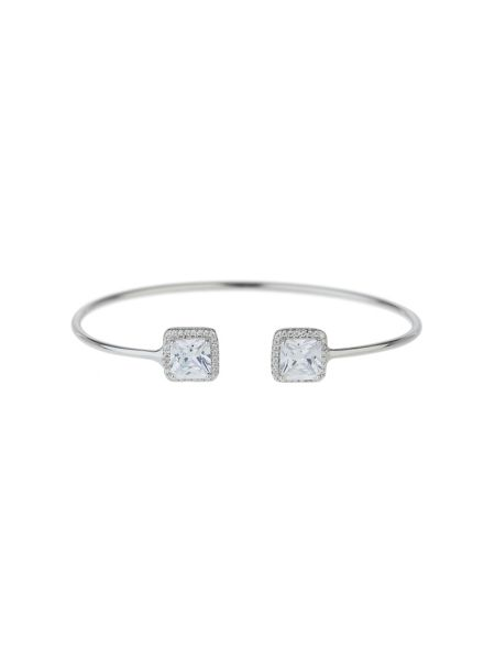 Mikey Sterling Silver 925 Twin Square Filigree