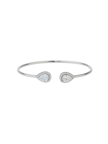 Mikey Sterling Silver 925 Twin Oval Filigree B