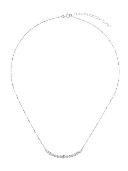 Mikey Sterling Silver 925 Curve Design Pendant