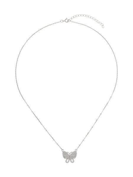 Mikey Sterling Silver925 ButterflyWing Pendant
