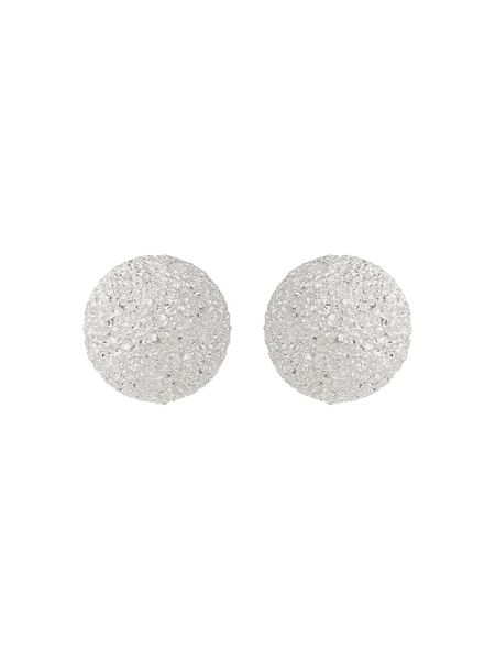 Mikey Sterling Silver925 Ball Stud Earring