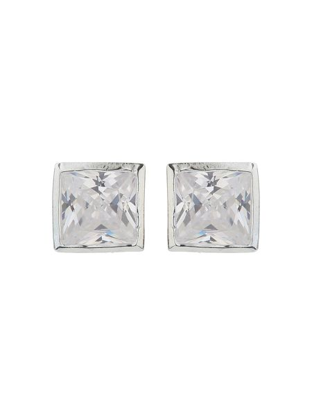 Mikey Sterling Silver925 Square Stud Earring