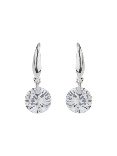 Mikey Sterling Silver 925 Crystal Drop Earring
