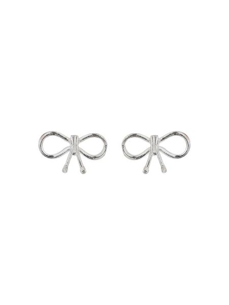 Mikey Sterling Silver 925 Bow Stud Earring