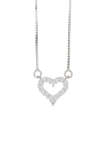 Mikey Sterling Silver925 Heart Design Pendant
