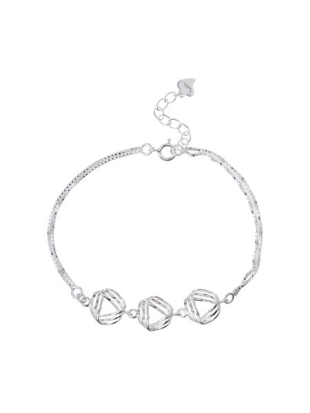 Mikey Sterling Silver925 Spiral Link Tennis B
