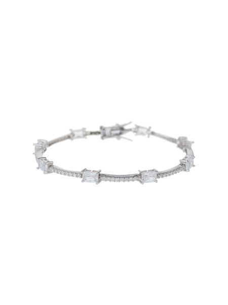 Mikey Sterling Silver925 Rectangle Tennis B
