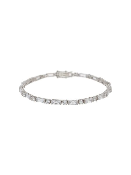 Mikey Sterling Silver925 Cubic Stone Tennis B