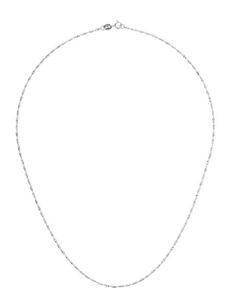 Mikey Sterling Silver 925 Diamond Design Chain