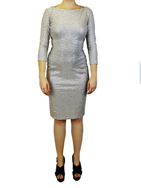 Feverfish Glitter Mesh Dress