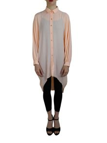 Feverfish Chiffon Bubble Shirt