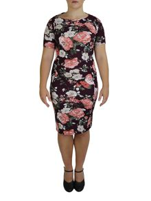 Feverfish Bodycon Printed Dress