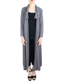 Feverfish Viscose Collar Cardigan