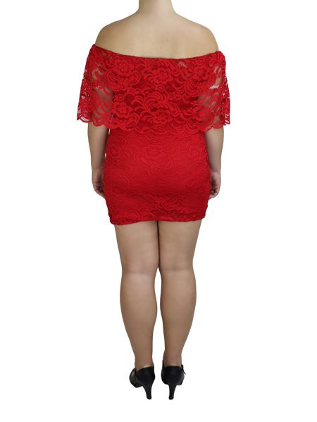 Feverfish Lace Scallop Top