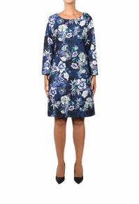 Feverfish Print Crepe Tunic