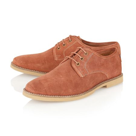 Frank Wright Thurrock round-toe shoes