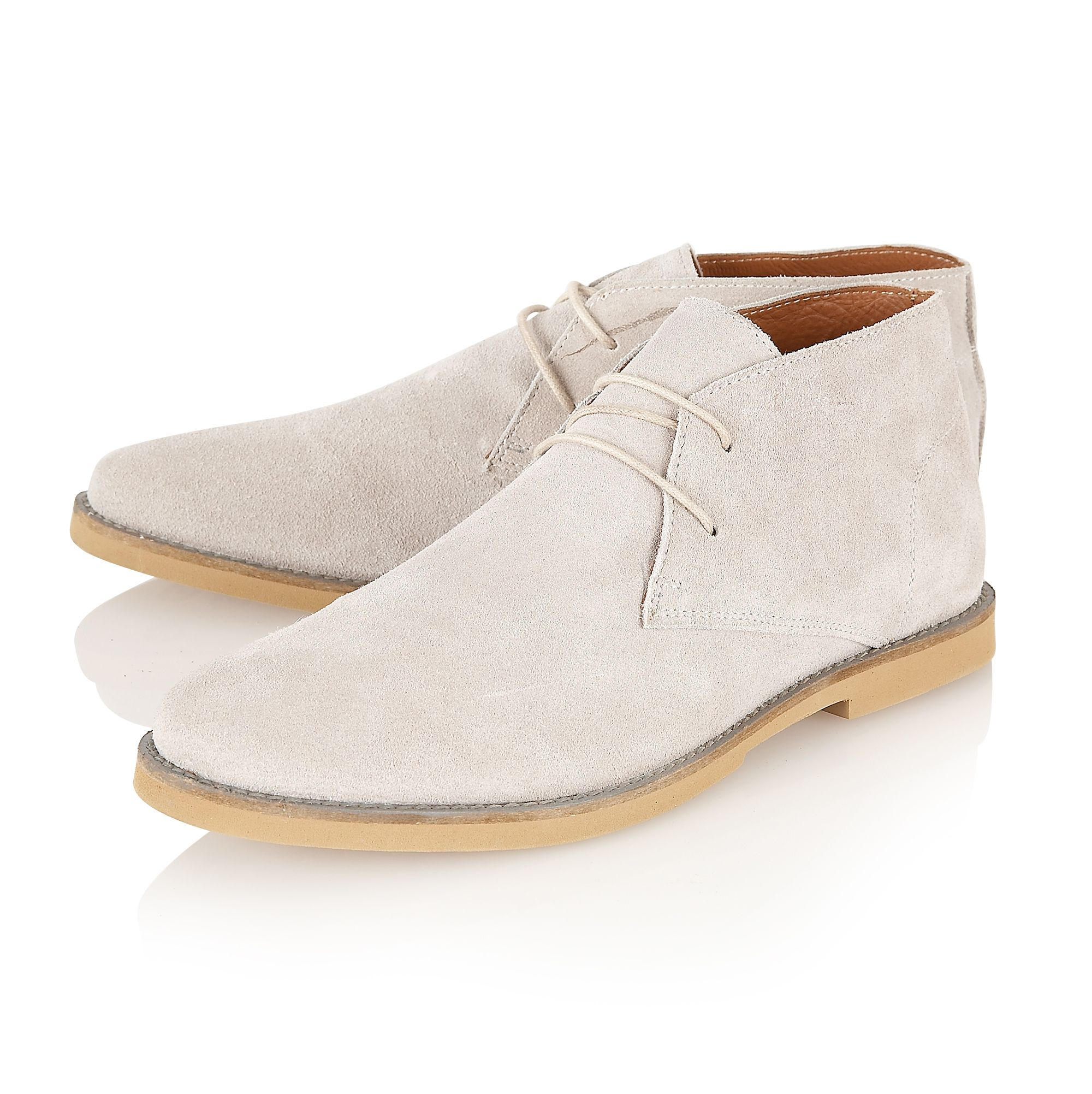 Totton round-toe boots