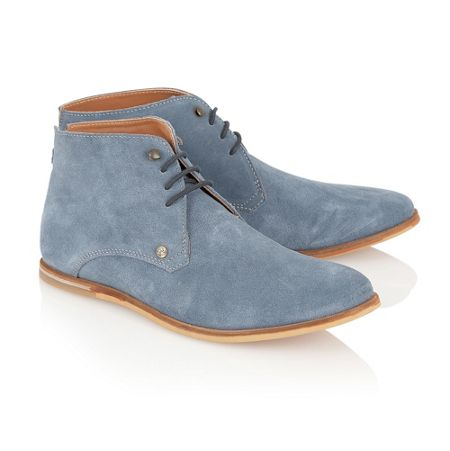 Frank Wright Smith round-toe boots