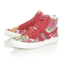 Cyclone liberty lace up high top trainers